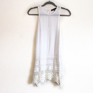 Sanctuary Tops - Sanctuary-Festival Boho Sleeveless Crocheted Tunic